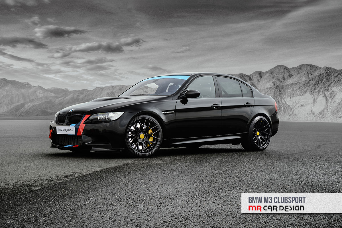 Bmw-M3-Clubsport-E90-Mrcardesign-1